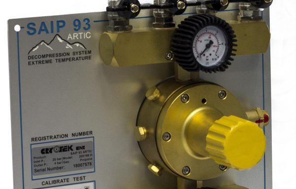 Propane decompression panel D93 Artic